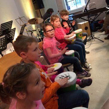 Neuer Kurs: Musik und Tanz für Kinder