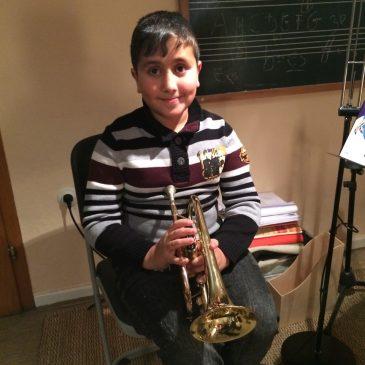 Musikunterricht für Flüchtlinge in der Lauterbacher Musikschule