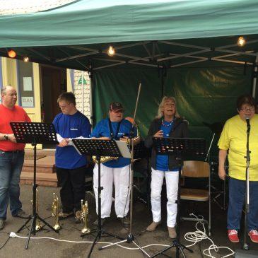 Ensembles der Musikschule präsentierten sich beim Lauterbacher Prämienmarkt