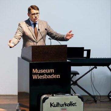 HeimatMusik spielte bei der Kulturkofferrevue in Wiesbaden
