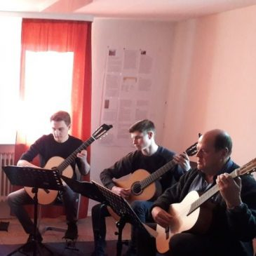 Klassenvorspiel Gitarre