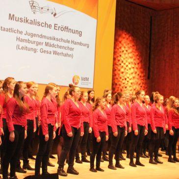 Hauptarbeitstagung des Verbandes deutscher Musikschulen in Hamburg