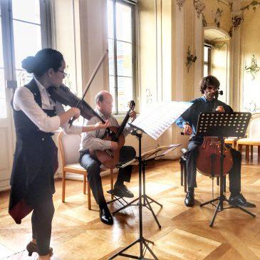 Lehrkräfte der Lauterbacher Musikschule begeisterten im Trio