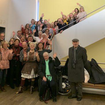 Lauterbacher Musikschule: Premierenbesuch bei der Kleinen Hexe