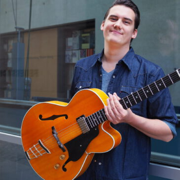 Dino Wurtinger neu im Gitarrenteam